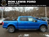 2019 Velocity Blue Ford F150 XLT Sport SuperCrew 4x4 #131338278