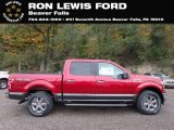 2018 Ruby Red Ford F150 XLT SuperCrew 4x4 #131338207