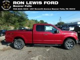 2018 Ruby Red Ford F150 XLT SuperCab 4x4 #131338200