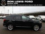 2019 Agate Black Ford Explorer Limited 4WD #131338263