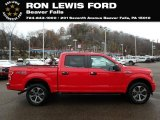 2019 Race Red Ford F150 STX SuperCrew 4x4 #131338259
