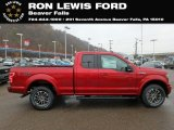2019 Ruby Red Ford F150 XLT SuperCab 4x4 #131338258