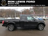 2019 Agate Black Ford F150 STX SuperCab 4x4 #131338255
