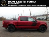 2019 Ruby Red Ford F150 XLT Sport SuperCrew 4x4 #131338249