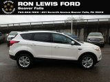 2019 White Platinum Ford Escape SEL 4WD #131338248