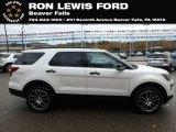 2019 White Platinum Ford Explorer Sport 4WD #131338247