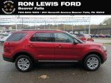 2019 Ruby Red Ford Explorer XLT 4WD #131338246