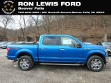 2019 Velocity Blue Ford F150 XLT SuperCrew 4x4 #131338307