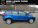 2019 Lightning Blue Ford Escape SEL 4WD #131338304