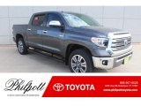 2019 Magnetic Gray Metallic Toyota Tundra 1794 Edition CrewMax 4x4 #131370702