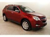 2010 Cardinal Red Metallic Chevrolet Equinox LTZ AWD #131385418