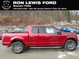 2019 Ruby Red Ford F150 XLT SuperCrew 4x4 #131385213
