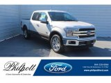 2019 White Platinum Ford F150 King Ranch SuperCrew #131385330