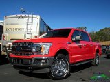 2019 Race Red Ford F150 XLT SuperCrew 4x4 #131412595