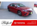 2019 Ruby Flare Pearl Toyota Camry SE #131422963