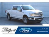 2019 White Platinum Ford F150 Lariat Sport SuperCrew 4x4 #131422956
