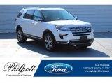 2019 White Platinum Ford Explorer Limited #131422950