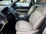 2019 Ford Explorer FWD Medium Stone Interior