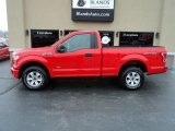 2016 Race Red Ford F150 XL Regular Cab 4x4 #131440752