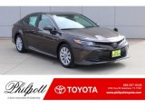 2019 Brownstone Toyota Camry LE #131440684
