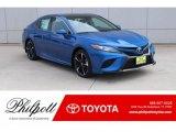2019 Blue Streak Metallic Toyota Camry XSE #131440682