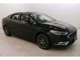 2017 Shadow Black Ford Fusion Platinum #131465303