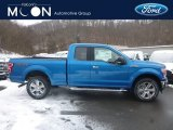 2019 Velocity Blue Ford F150 XLT SuperCab 4x4 #131465259
