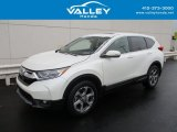 2017 White Diamond Pearl Honda CR-V EX AWD #131465057