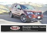 2016 Bronze Fire Metallic Ford Explorer Sport 4WD #131488094