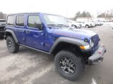 2019 Jeep Wrangler Unlimited Ocean Blue Metallic