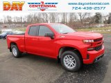 2019 Red Hot Chevrolet Silverado 1500 RST Double Cab 4WD #131488116