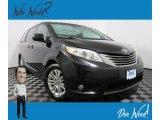 2011 Black Toyota Sienna XLE #131488334