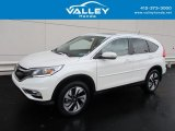 2015 White Diamond Pearl Honda CR-V Touring #131514790