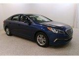 2017 Lakeside Blue Hyundai Sonata SE #131514962