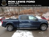 2019 Blue Jeans Ford F150 XLT SuperCrew 4x4 #131514848