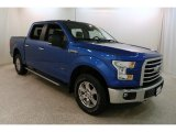 2015 Blue Flame Metallic Ford F150 XLT SuperCrew 4x4 #131514979