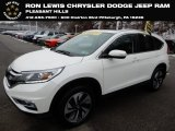 2016 White Diamond Pearl Honda CR-V Touring AWD #131514946