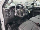 2019 Chevrolet Silverado 1500 WT Double Cab 4WD Jet Black Interior