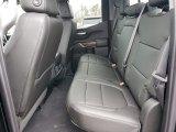 2019 Chevrolet Silverado 1500 RST Double Cab 4WD Rear Seat
