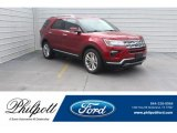 2019 Ruby Red Ford Explorer Limited #131532950