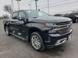 2019 Black Chevrolet Silverado 1500 High Country Crew Cab 4WD #131532889