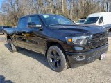 2019 Diamond Black Crystal Pearl Ram 1500 Big Horn Black Crew Cab 4x4 #131544027