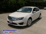 2010 White Suede Ford Fusion SE #13136705
