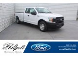 2019 Oxford White Ford F150 XL SuperCab #131544085