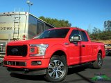 2019 Race Red Ford F150 STX SuperCab 4x4 #131543964