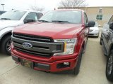 2018 Ruby Red Ford F150 XL SuperCab 4x4 #131555584