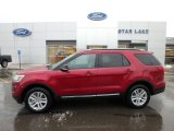 2019 Ruby Red Ford Explorer XLT 4WD #131569786