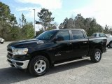 2019 Diamond Black Crystal Pearl Ram 1500 Tradesman Crew Cab 4x4 #131569765
