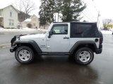 2011 Bright Silver Metallic Jeep Wrangler Sport 4x4 #131569525