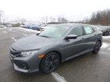 2019 Polished Metal Metallic Honda Civic EX Hatchback #131569652